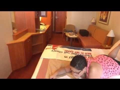 Carnival Freedom Oceanview Stateroom Cabin Category 6b 1268 Walkthrough