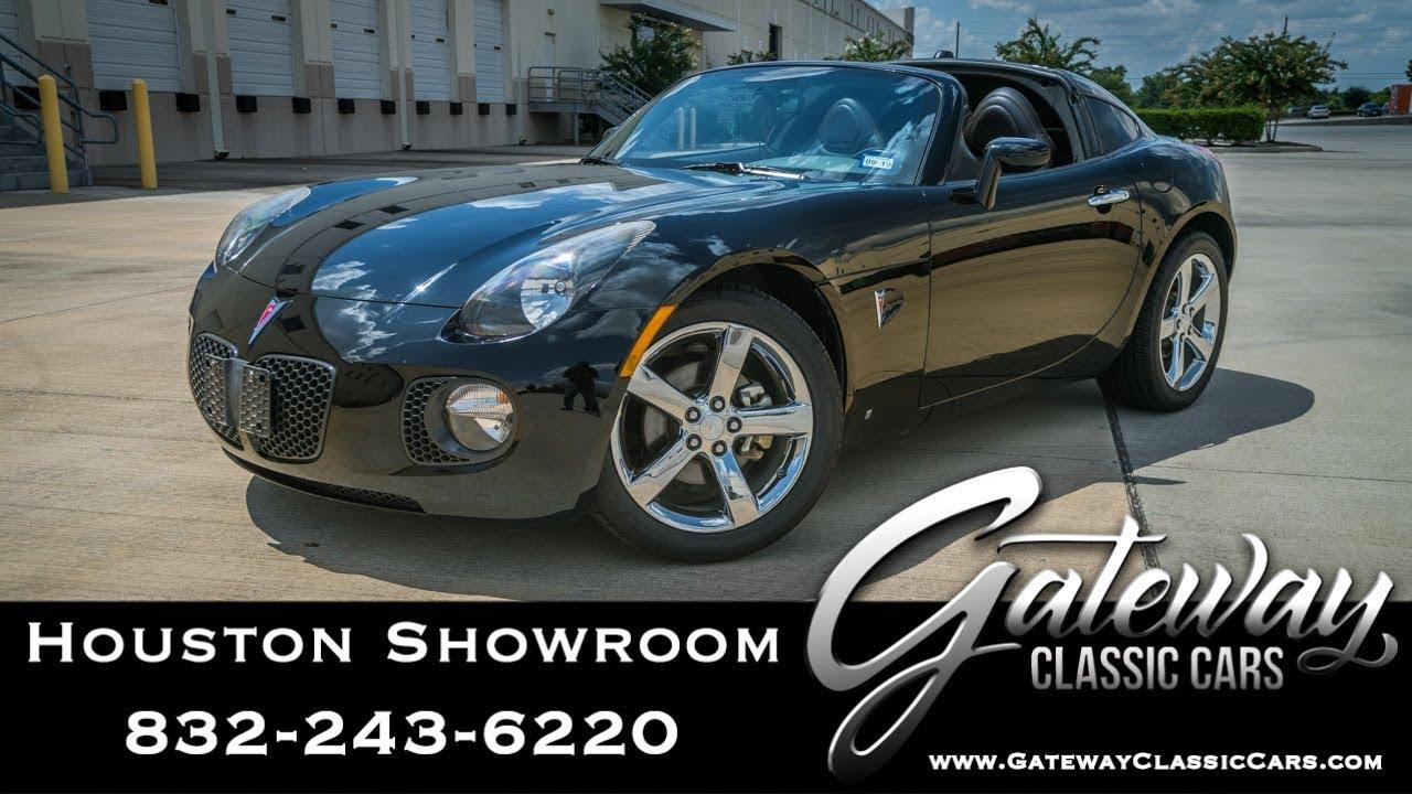 2009 Pontiac Solstice Gateway Classic Cars #1602 Houston Showroom