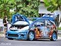 MODIFIKASI TERGILA MOBIL HONDA JAZZ EXTREME DI INDONESIA!!! GIIAS 2016