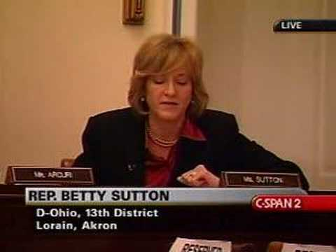 Rep. Betty Sutton Speaks on Iraq Resolution
