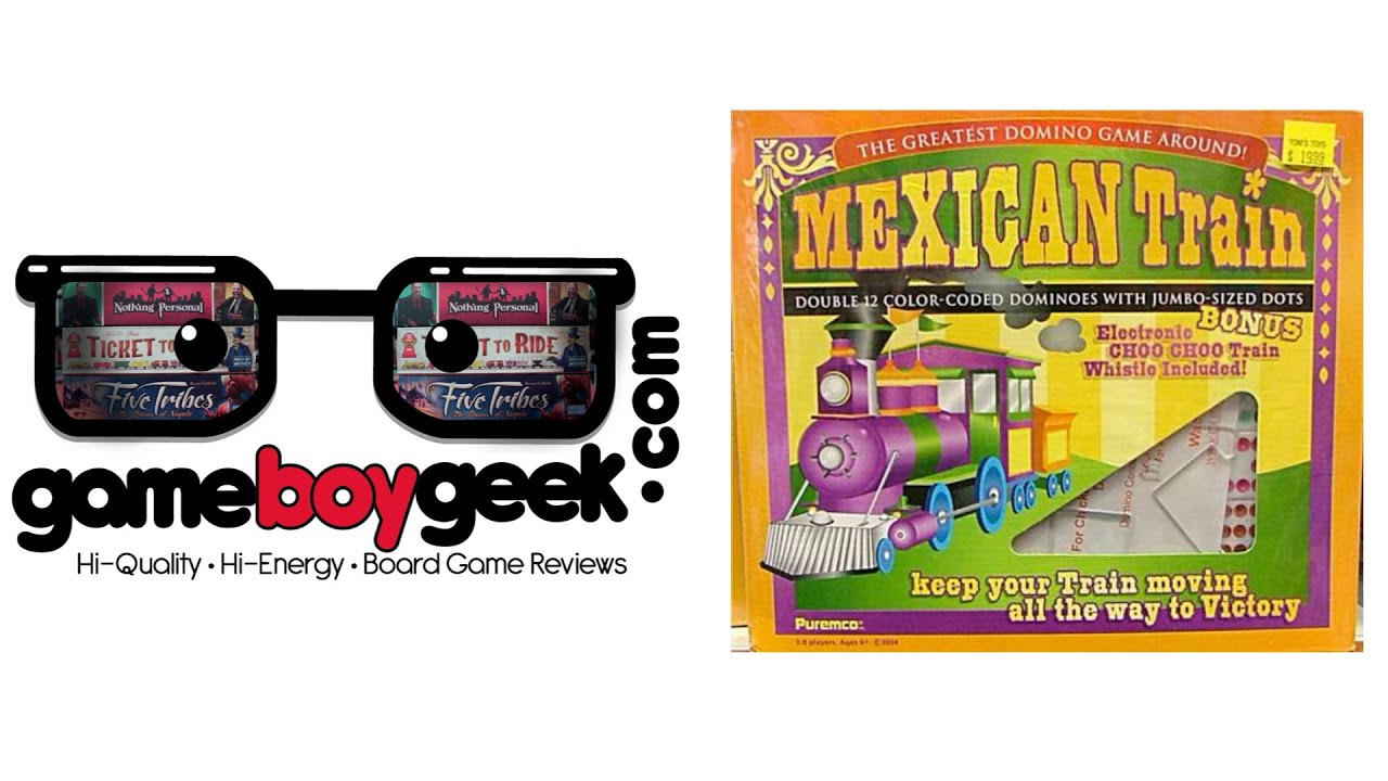 Mexican Train Game Review Youtube