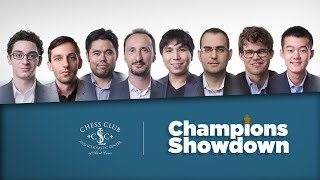 2017 Champions Showdown: Day 1