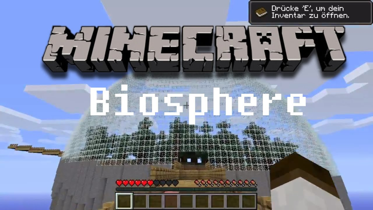 how to make a biosphere in minecraft