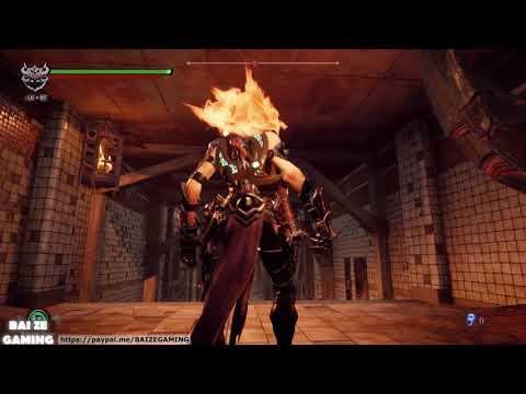 Darksiders III 25 The Scar! The Lowlands! Dust Halls! Demons Peak!