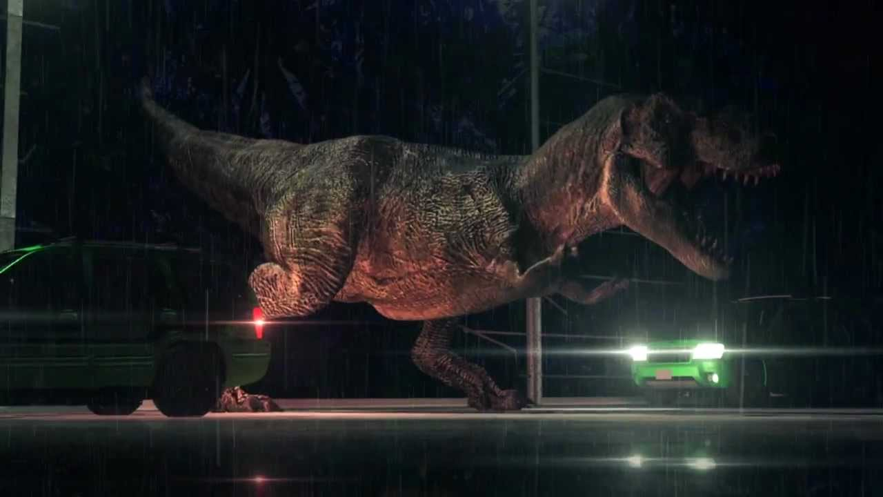 Dinosaurs - T-REX Jurassic Park 3D Animation Re-Created ...