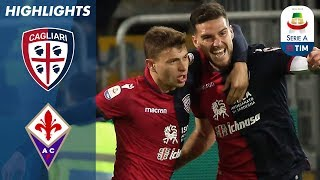 Cagliari 2-1 Fiorentina | Late Fiorentina Goal Not Enough to Stop Cagliari | Serie A