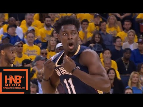 Golden State Warriors vs New Orleans Pelicans 1st Half Highlights / Game 5 / 2018 NBA Playoffs