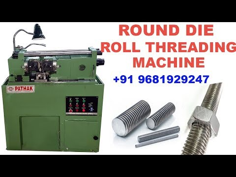 Hydraulic Round Die Thread Rolling Machine
