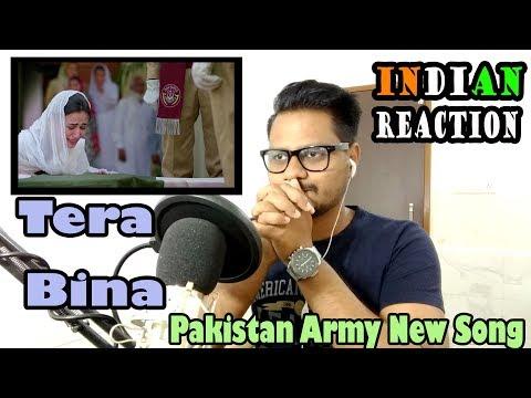 Pakistan Army New Emotional Song 'Tera Bina' | Indian Reaction