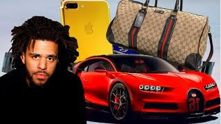 6 expensive things owned by j cole