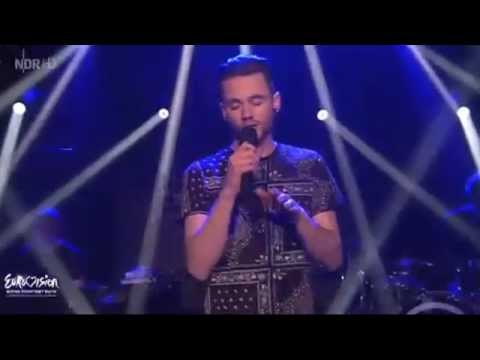 Eurovision 2014 (Germany) : Roman Lob - Standing Still/All That Matters (Live at Wildcard Round)