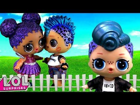 Мама в шоке от новой девушки Панки. Мультик про куклы ЛОЛ сюрприз. LOL dolls