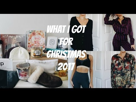 WHAT I GOT FOR CHRISTMAS 2017 + TRY ON
