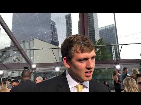 T. J. Hockenson Interview At 2019 NFL Draft Red Carpet