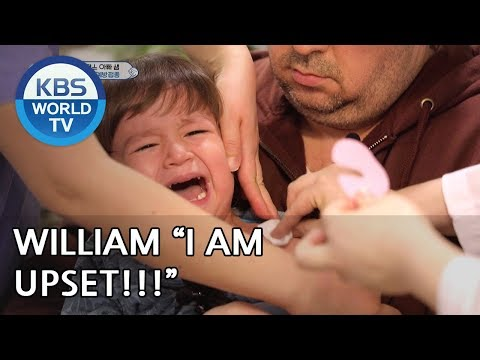 """William """"I don't want a shot!!!"""" [The Return of Superman/2019.03.31]"""