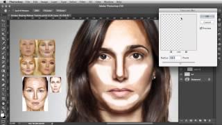 Объем и форма лица (ретушь портрета в Photoshop)