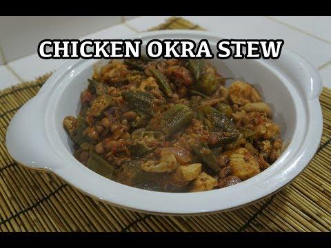 Chicken Okra Black Eye Peas Stew Recipe