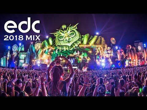EDM & Bass Festival Mix 2018 EDC las Vegas Music