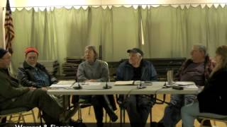 Warrant and Finance Meeting - 01-12-2015