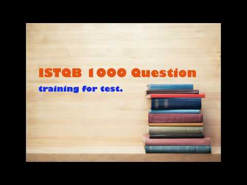 [ISTQB Questions exam] [Part 1] 1 ~ 20
