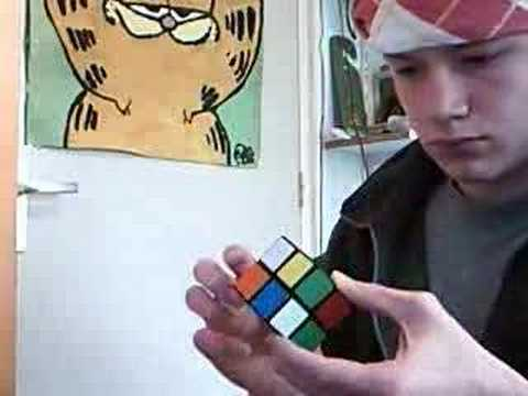 how to solve a 2x2 blindfolded