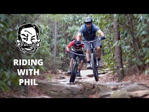 Mountain Biking with Phil Kmetz in North Carolina - RWS EP13