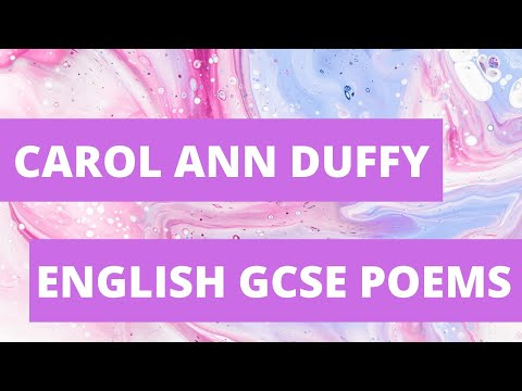 Carol Ann Duffy Poems Explained: GCSE Revision | Narrator: Barbara Njau
