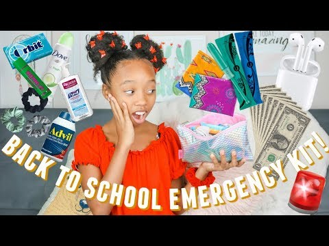 Back To School Emergency Kit 2019