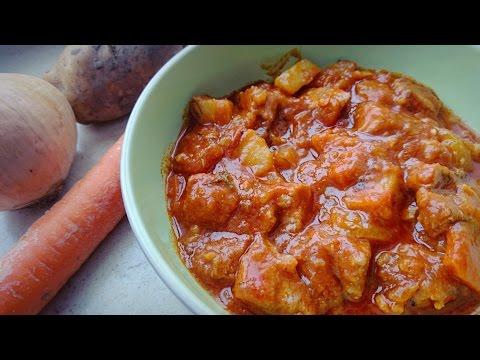 Ароматный венгерский гуляш с паприкой: рецепт