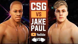 Deji vs Jake Paul 🥊 Boxing Match  ( Boxing Rules Only UFC 3)