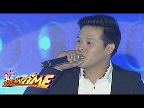 It's Showtime Singing Mo To: Marcelito Pomoy sings