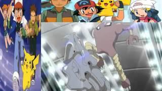 Red vs  Giovanni Origins   Full Fight    YouTube