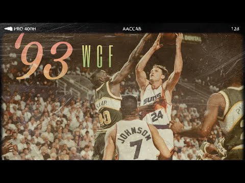THROWBACK: 1993 Western Conference Finals Game 5 (Sonics v.s. Suns) First Possessions