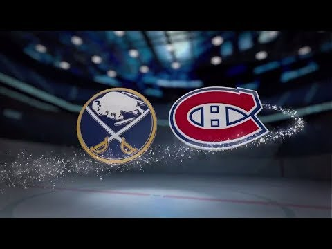 Buffalo Sabres vs Montreal Canadiens - November 25, 2017 | Game Highlights | NHL 2017/18.Обзор матча
