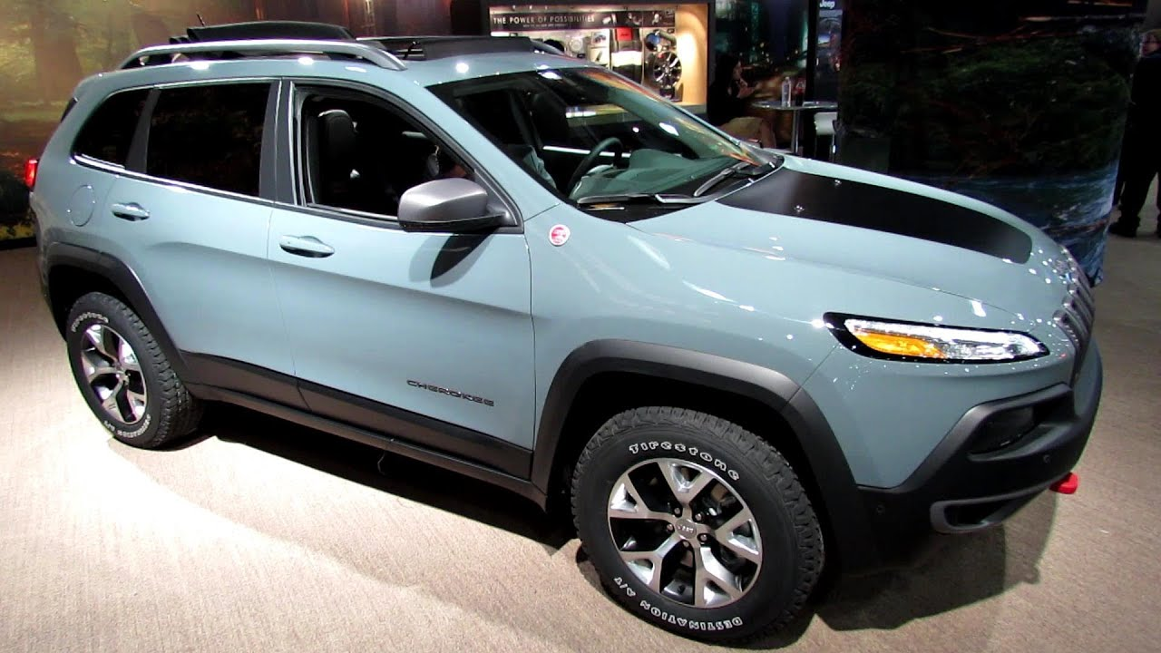 2014 Jeep Cherokee Trailhawk - Exterior and Interior ...