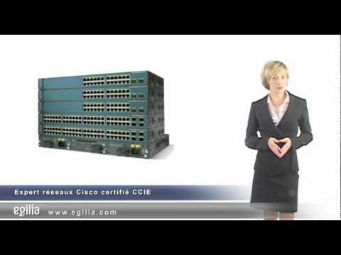 Formation Expert réseaux Cisco certifié CCIE - EGILIA