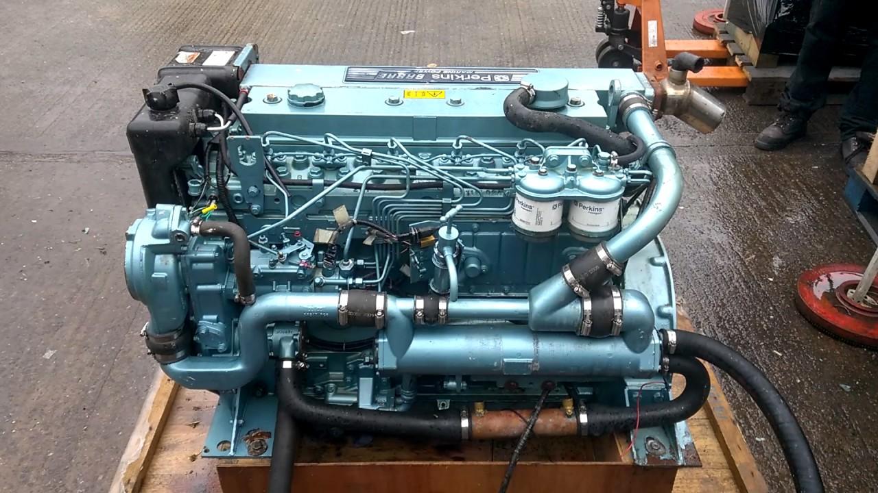 2005Yr Perkins M130C 130hp Marine Diesel Engine