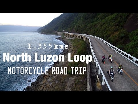 1,355kms North Luzon Loop Motorcycle Ride