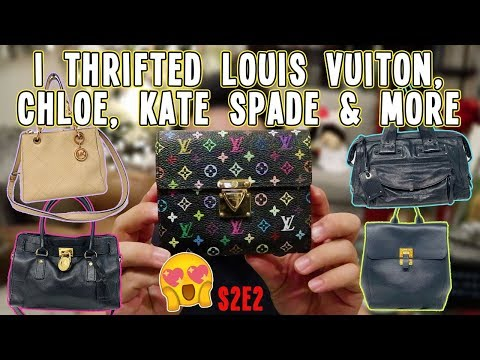 I THRIFTED LOUIS VUITON, CHLOE, KATE SPADE & MORE | THRIFT HAUL S2.E2