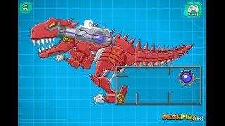 Игра Собираем Робота Динозавра онлайн - ROBOT MEXICO REX