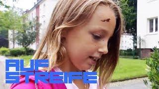 Hobby-Polizistin am Werk! Ihre kleine Tochter wurde angefahren! | Auf Streife - Berlin | SAT.1 TV