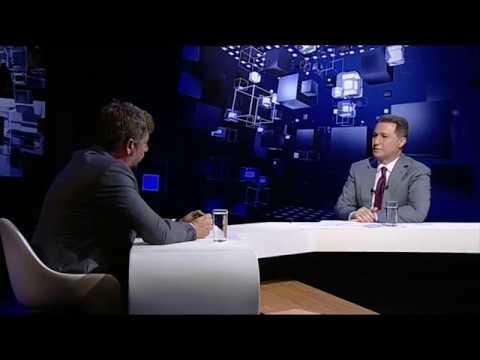 Интервју Никола Груевски на Алфа ТВ емисија Седмица