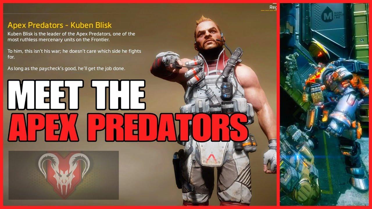 Meet BLISK and THE APEX PREDATORS | Apex Legends & Titanfall Lore