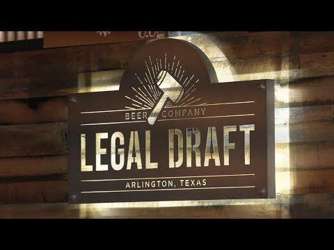 Arlington Eats visits Legal Draft Beer Company