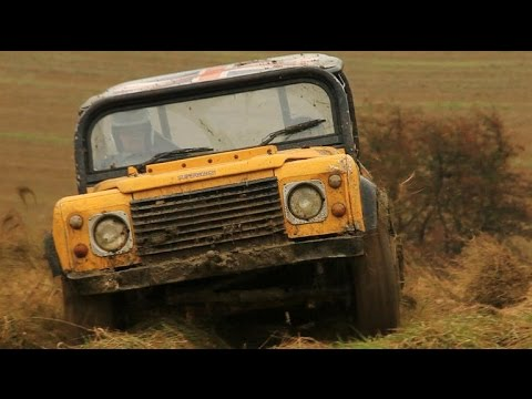 Meet the trialers: Land Rover Defender fans get down and dirty