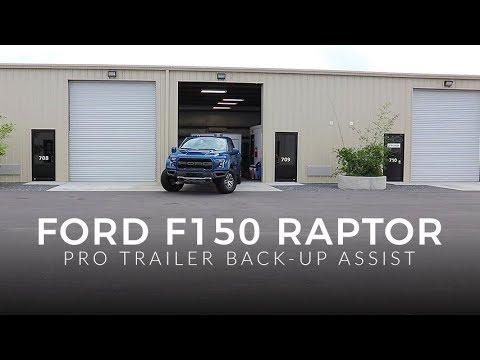"Ford F150/Raptor ""Pro"" Trailer Back-up Assist 