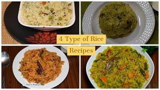 Rice Bath/Lunch Box Recipe/Rice variety/One pot meal/Pressure cooker Recipes/Pulav