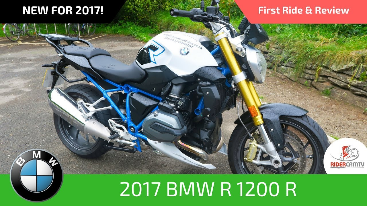2017 bmw r1200r first ride and review youtube. Black Bedroom Furniture Sets. Home Design Ideas