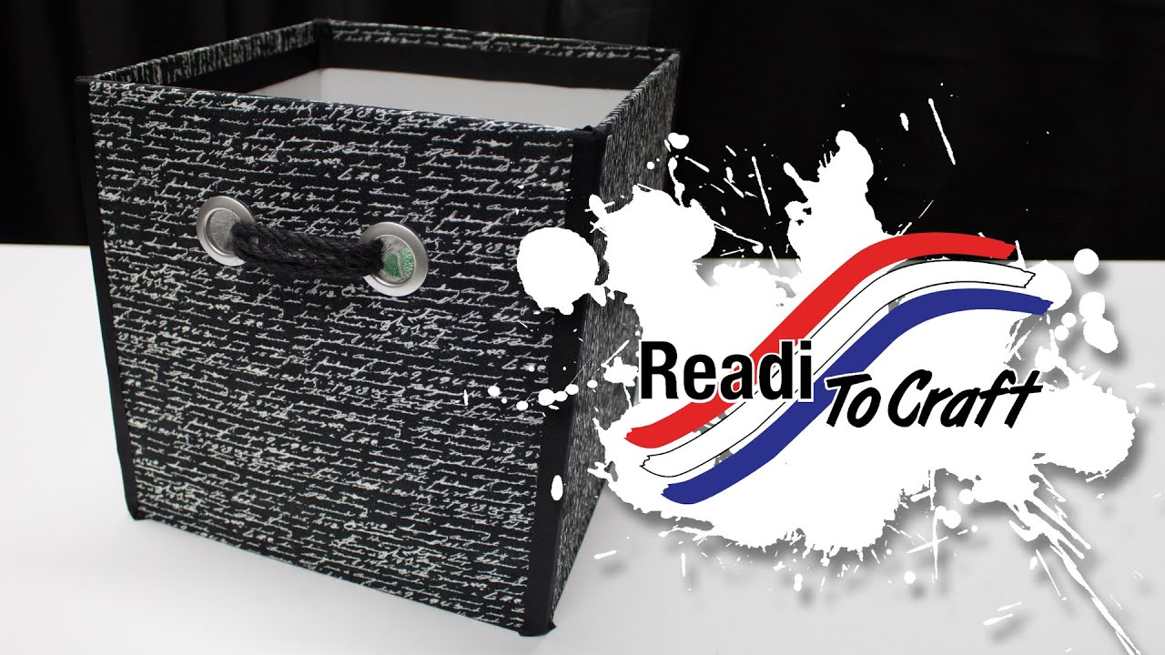 Readi to Craft: Storage Box