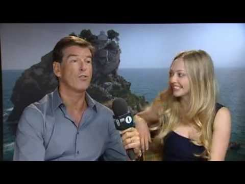 BBC 1: Mamma Mia Interview with Pierce Brosnan & Amanda Seyfried (2008)